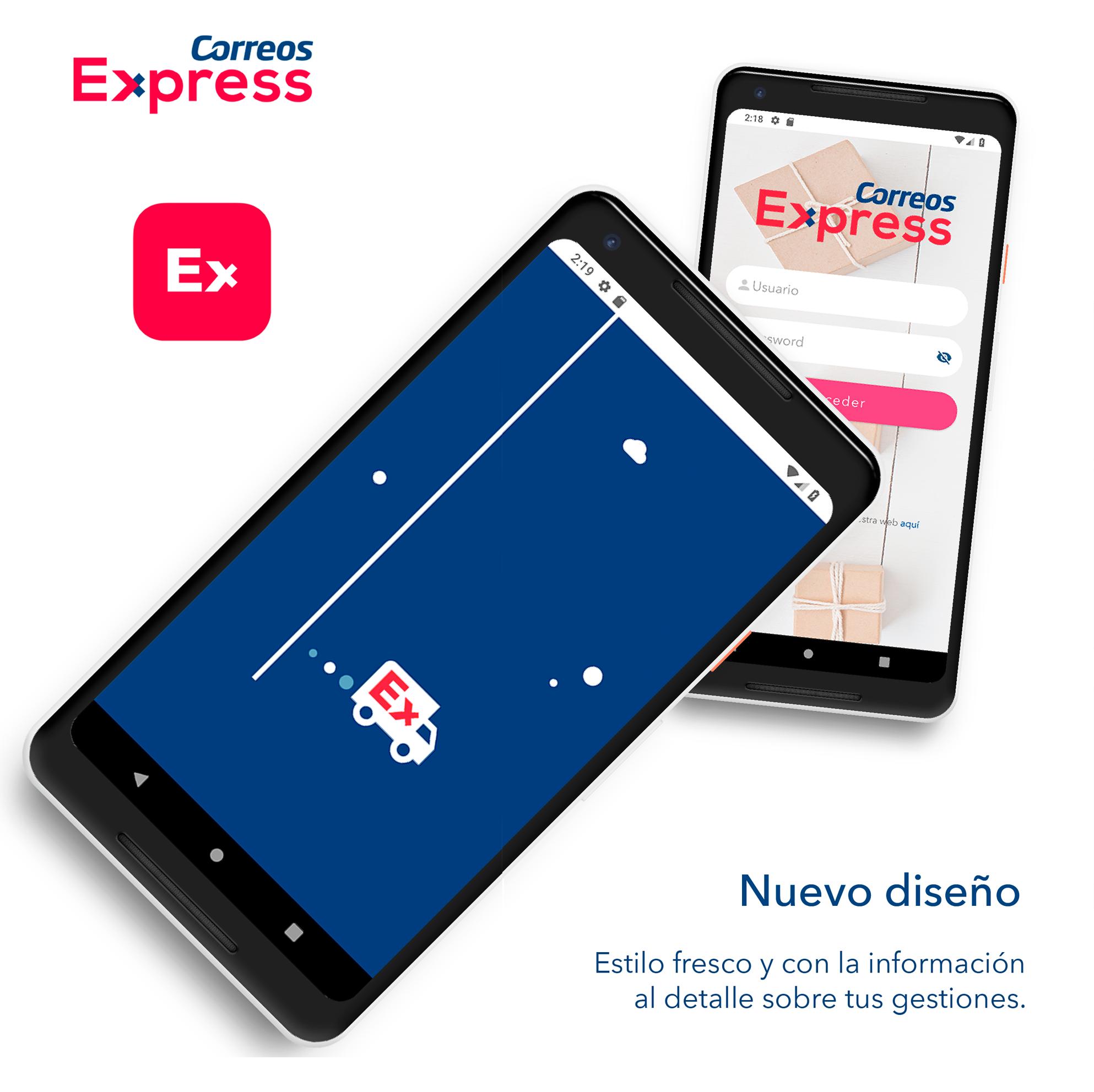 La nueva App de Clientes de Correos Express ofrece una gestión total de los envíos desde el móvil y en breve, utilizando la voz