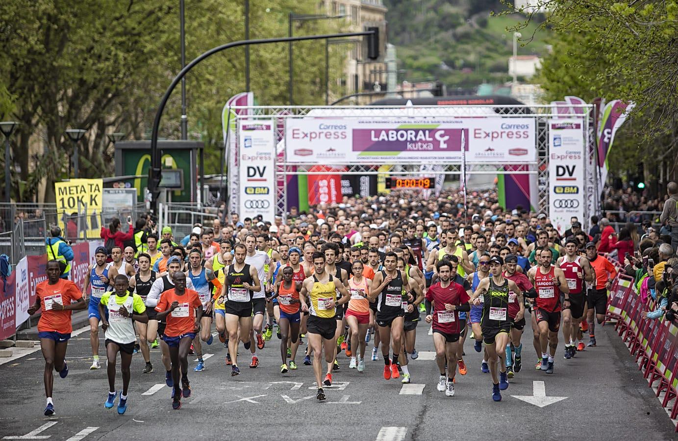 Correos Express patrocina la 19ª edición de la Media Maratón de San Sebastián