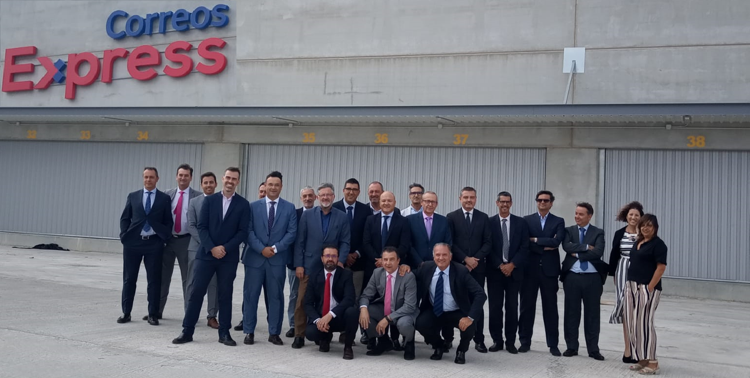La nueva nave de Correos Express en Zaragoza cuenta con una capacidad de clasificación de 6.000 paquetes/hora