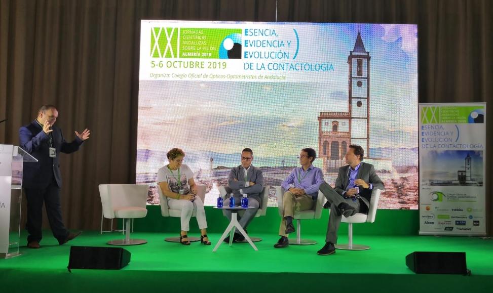 Las XXI Jornadas Científicas Andaluzas sobre la Visión reúnen a más de 250 profesionales este fin de semana en Almería
