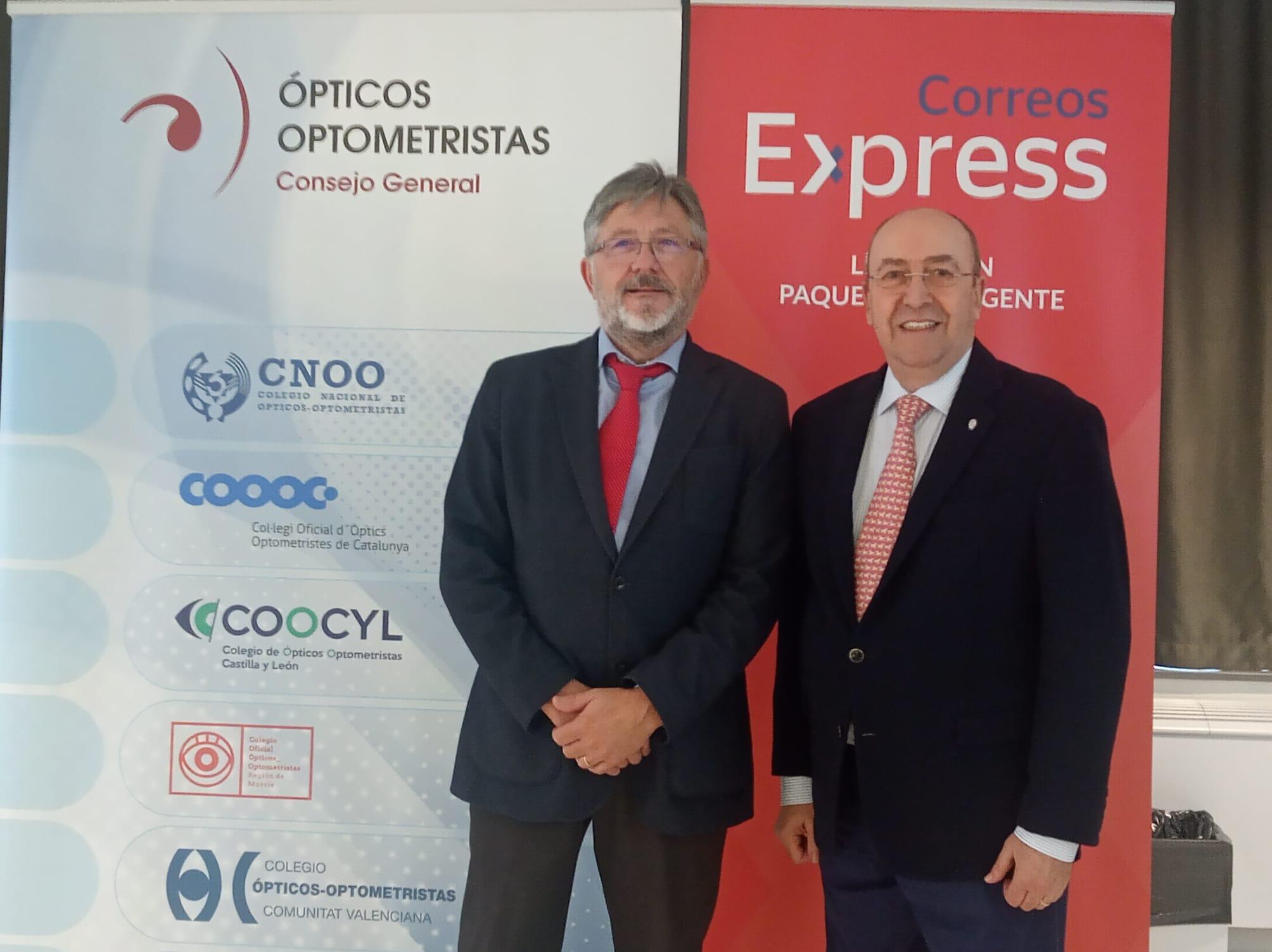 El Consejo General Colegial Óptico-Optométrica y Correos Express consolidan su compromiso estratégico