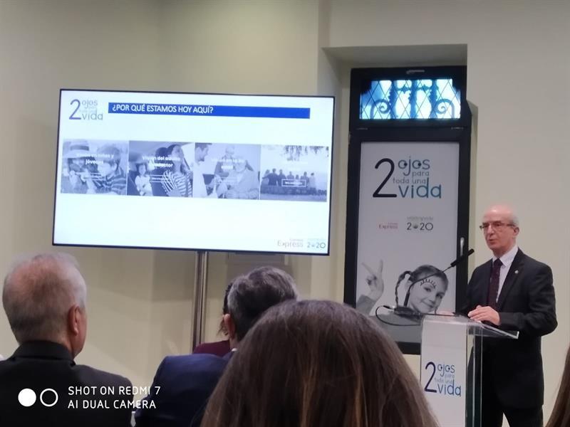 'Visión 2020: Dos ojos para toda una vida', una campaña de sensibilización de Visión y Vida con Correos Express
