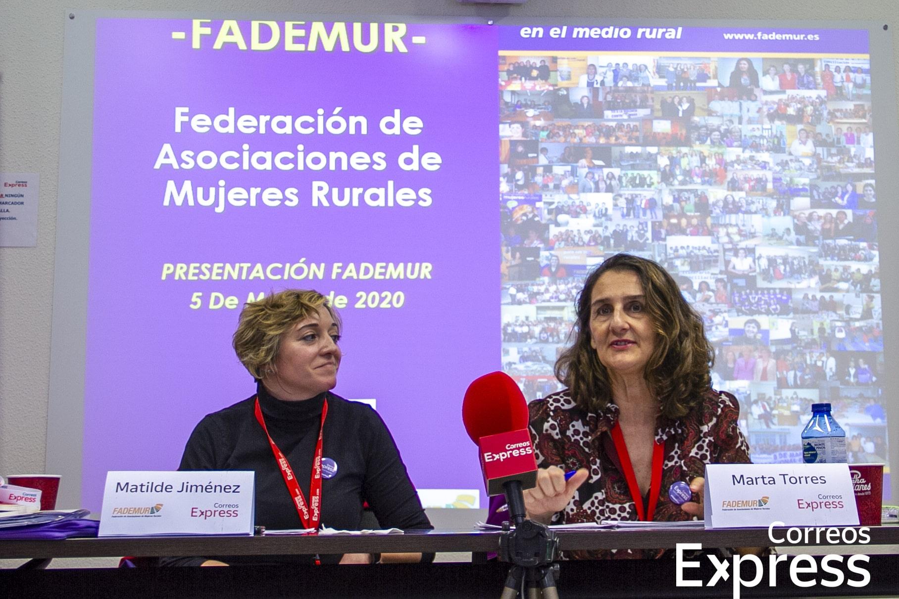 FADEMUR presenta ante los empleados de Correos Express su labor en materia de igualdad y progreso de las mujeres rurales en España
